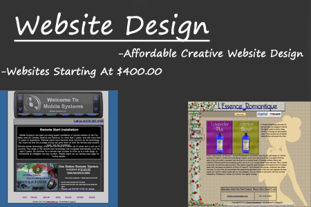 Website Design, with SEO Compliant Layout